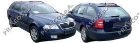 SK0241900 Защита картера двигателя / SKODA Octavia;VW Caddy-III,Golf-V,Touran 04~