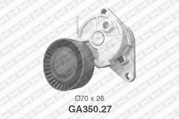 GA35027 Деталь GA350.27_pолик натяжной pемня кон