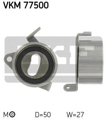 VKM77500 Ролик натяжной ремня ГРМ Daihatsu Charade 1.3i-1.6i 16V 88