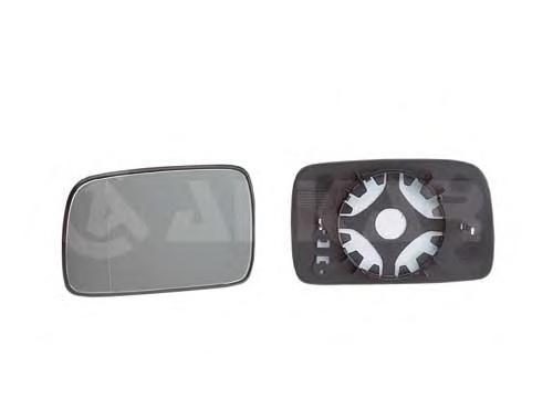 6402107 Стекло зеркала левое, сферическое / VW Polo 95~00