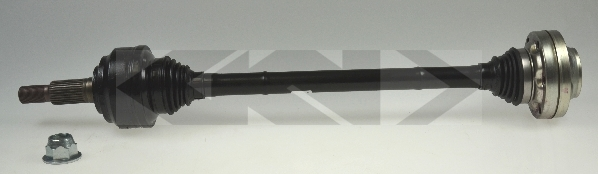304544 Привод в сборе VW TOUAREG/PORSCHE CAYENNE 3.0D-5.0D 02-10 зад. лев./прав.