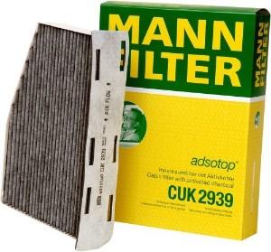 CUK2939 Фильтр салона AUDI A3/TT/SKODA OCTAVIA 04-/VW G5/PASSAT/TIGUAN угольный