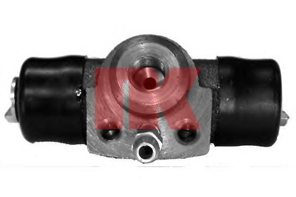 804706 Цилиндр тормозной задний (17,46мм) / AUDI,SEAT,VW 74~