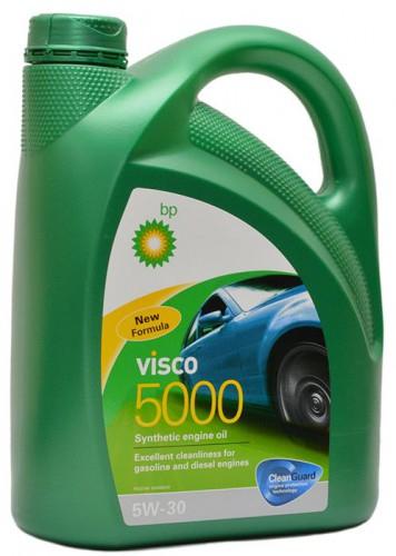 15807A Масло моторное 5W30 BP 4л синтетика Visco 5000