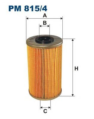PM8154 Фильтр топливный RENAULT MASTER/TRAFIC/OPEL MOVANO 1.9/2.5 DCI 01-