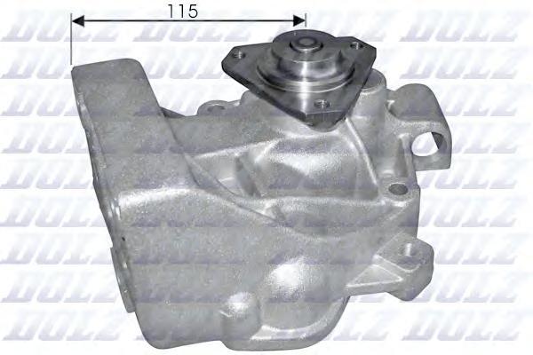 S169 Насос водяной FIAT Ducato Nuovo (230) 2.5 D/TDS 94-, 2.8TDS 97-, PEUGEOT Boxer 270/310/20/50 2.5/2.8D, 2.8TD (Sofim) 99-