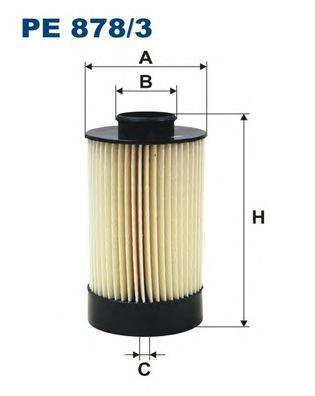 PE8783 Фильтр топливный IVECO DAILY 2.3D-3.0D 06-