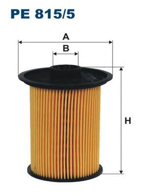 PE8155 Фильтр топливный NISSAN PRIMASTAR/RENAULT MASTER/OPEL MOVANO
