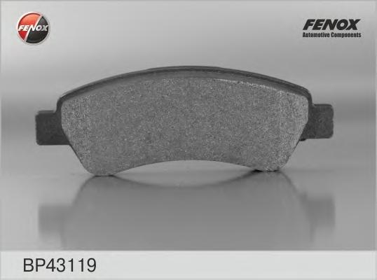 BP43119 Колодки тормозные CITROEN JUMPER/FIAT DUCATO/PEUGEOT BOXER (250) 06- задние