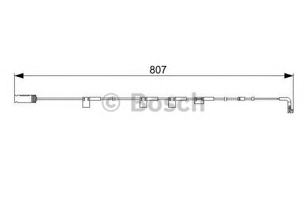 1987473058 Датчик износа торм.колодок MINI COOPER/CLUBMAN 807мм 06- пер.подв.