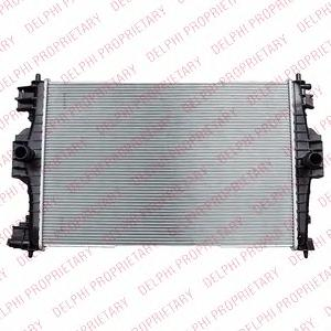 TSP0524061 Радиатор PSA DS4, 308
