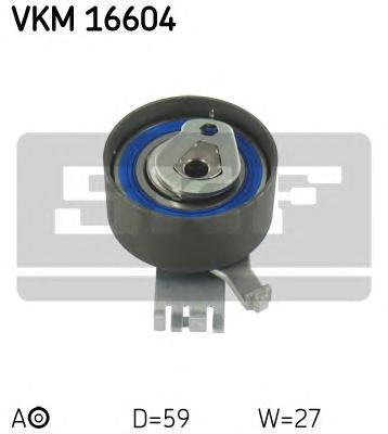 VKM16604 Ролик натяжной ремня ГРМ Volvo S70/V70 2.0 16V 96 Renault Safrane 2.0-2.5 16V 98