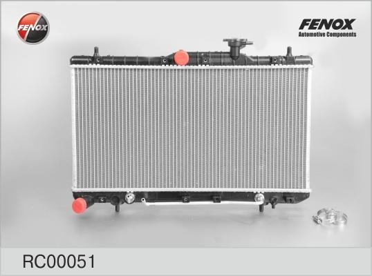 RC00051 Радиатор HYUNDAI ACCENT 1.5/1.6 00-