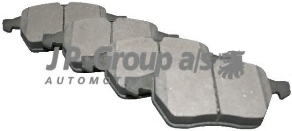 1263601010 Колодки тормозные дисковые передние / OPEL Calibra, Vectra-B 1.6 - 2.5 89~