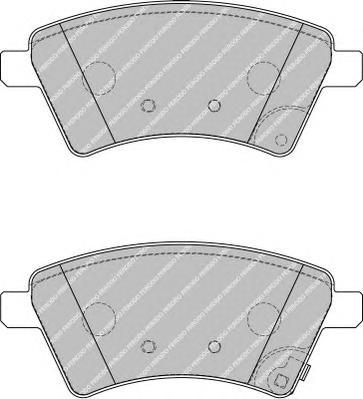 FDB1875 Колодки тормозные SUZUKI SX4 06- (Венгерская сборка) передние