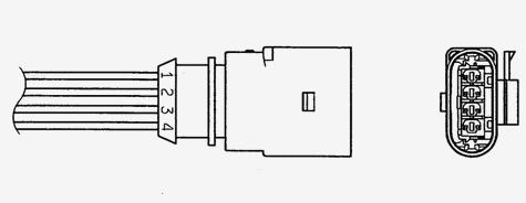 96435 Лямбда-зонд VAG 1.2 TSI/TFSI 09- OZA629-V26
