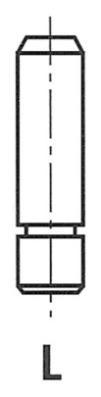 G11365 Втулка клапана TOYOTA 1.6-1.8 16V 1ZZ-FE 00 10.04x5.5x34.5 IN/EX