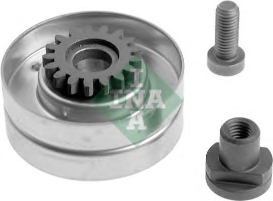 531006610 Ролик промежуточный поликлинового ремня RENAULT: 19 89-95, MEGANE 96-, CLIO 91-98