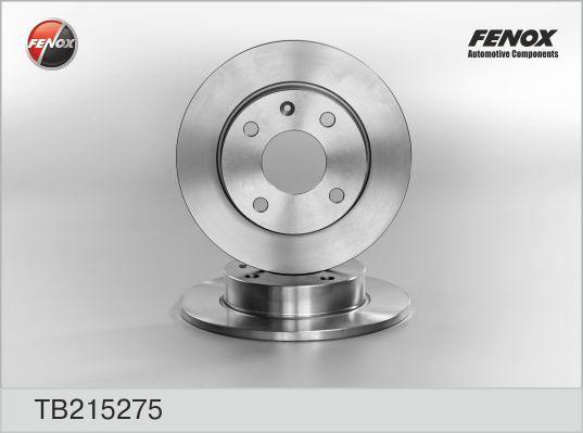 TB215275 Диск тормозной FORD Fiesta, Escort, Orion