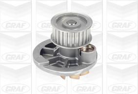 PA572A Насос водяной OPEL ASTRA F/G/VECTRA A/B/ 1.7D 1.8/2.0 16V 00