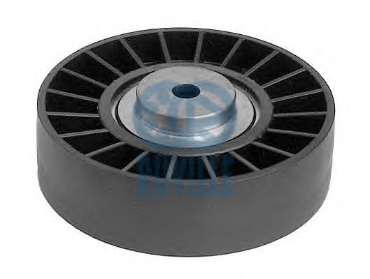 55408 Ролик промежуточный поликлинового ремня AUDI: 100 2.6/2.6 quattro/2.6 E quattro/2.8 E/2.8 E quattro 90-94, 100 Avant 2.6/2