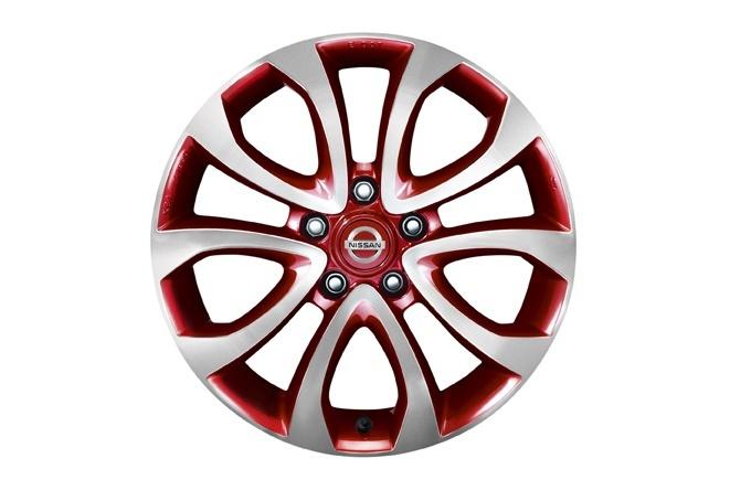 KE4091K200R1 Диск колеса литой F15E R17х6.5J (красный)