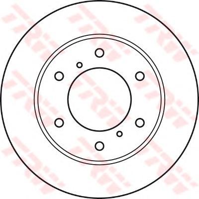 DF4920 Диск тормозной MITSUBISHI L200 05- передний вент.D=293мм.