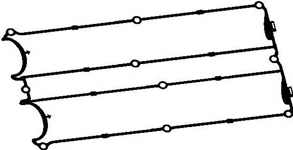 11042600 Прокладка клапанной крышки FORD 1.6-2.0 16V ZETEC 92-00