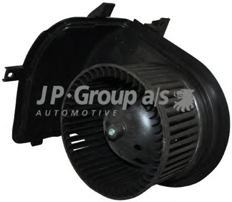 1126101100 Мотор печки отопителя салона VAG