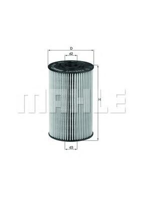 OX150D Фильтр масляный MAN/MB
