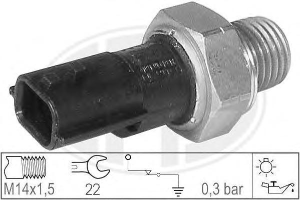 330699 Датчик давления масла RENAULT LOGAN/SANDERO 1.6/1.5D