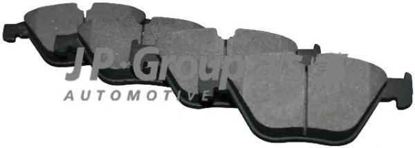 1463601810 К-т тормозных колодок Fr BMW 20.3 mm
