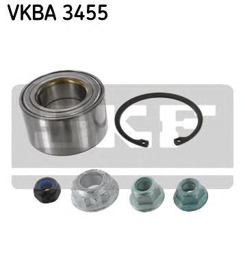 VKBA3455 Подшипник ступ.AUDI A3/SKODA OCTAVIA/VW GOLF/BORA 96-06 пер.