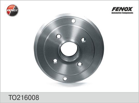TO216008 Барабан тормозной RENAULT LOGAN/CLIO/MEGANE (d=180mm)