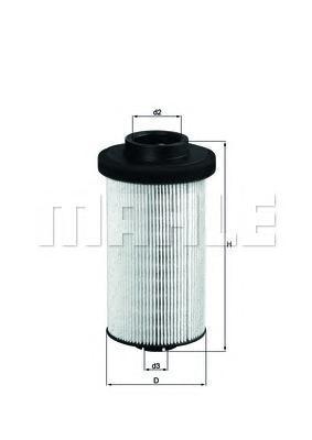 KX80D Фильтр топливный MB ACTROS
