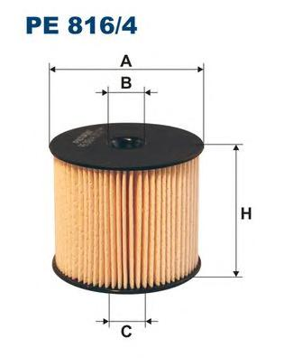 PE8164 Фильтр топливный PEUGEOT/CITROEN 2.0/2.2 HDI