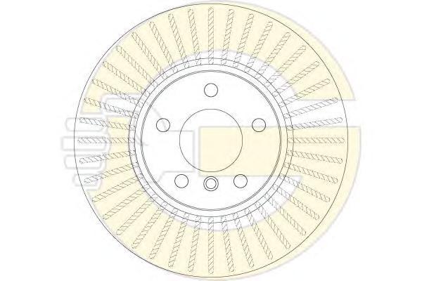 6062205 Диск тормозной BMW X3 F25 10- передний вент.D=328mm