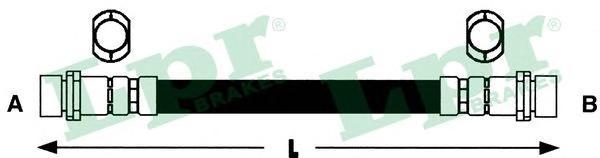 6T47845 Шланг тормозной FIAT DOBLO 01- задний