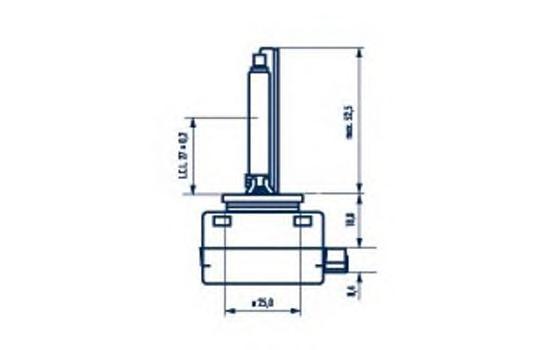 84010 Лампа D1S 85V 35W Xenstart