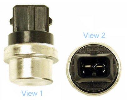 251919501D Датчик температуры охл. жидк. черный / AUDI,SEAT,VW 1.0-2.8 83~