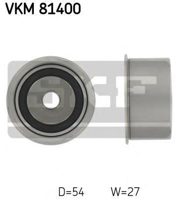 VKM81400 Ролик промежуточный ремня ГРМ Toyota Corolla 1.3-1.4 92