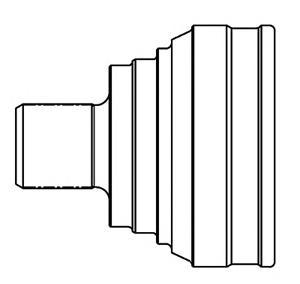 834015 ШРУС MAZDA 3 I 1.3-2.0 03-09 нар.