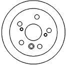 45555 Диск тормозной Re LEX RX -03