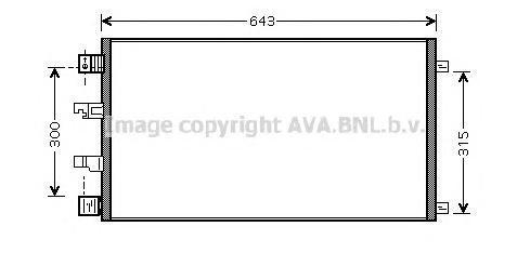 DNA5290 Конденсер NISSAN QASHQAI 2.0D 07-