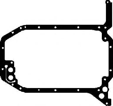 713170610 Прокладка масляного поддона Audi 100 2.6/2.8 ABC/AAH/ACZ 90