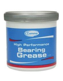 BG2500G Смазка для подшипников COMMA 0.5кг HP BEARING GREASE EP2