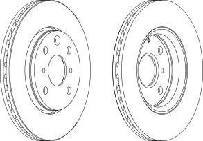 wgr15271 Тормозной диск