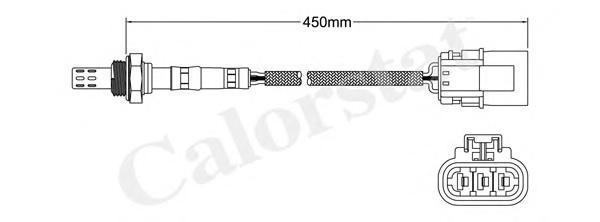 LS130216 Лямбда-зонд NISSAN: 100 NX 1.6 SR 90-96, 200 SX 1.8 Turbo 88-94, 200 SX 2.0 i 16V Turbo 93-99, ALMERA I 1.4/1.4 GX,LX/1