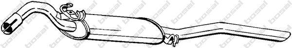 281703 Глушитель VW JETTA 1.8 89-91