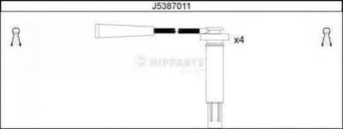 J5387011 Провода в/в SUBARU FORESTER/ IMPREZA/LEGACY 2.0/2.5 98-